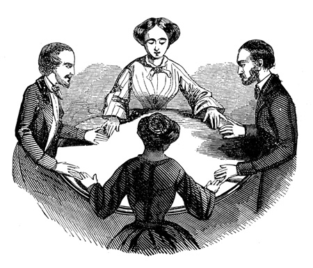 image of non-legally binding seance